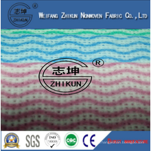 Eco-friendly Non-toxic High Quality Spunlace Nonwoven Fabric for Kitchen Cleaning Wipes