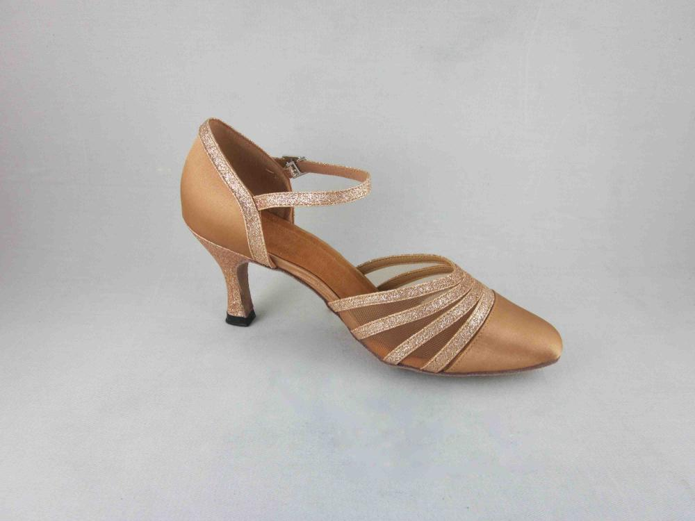Flesh Satin Dance Shoes Uk