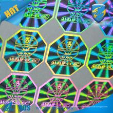 Tamper Evident VOID etiqueta de etiqueta de selo etiqueta de holograma
