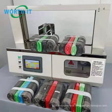 Automatic Banding Machine for Small Size Paper Paper Tape Banknote Strapping Machine Edge Banding Tape Making Machine