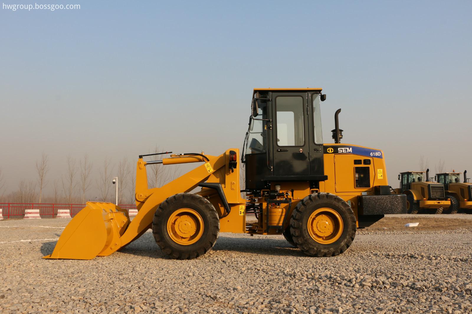 SEM618D wheel loader SIDE