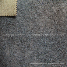 High Quality Breathable PU Furniture Leather (QDL-FB0042)
