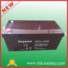 Alta calidad 12V 200ah plomo ácido AGM batería solar