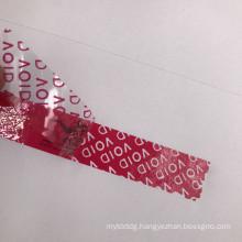 custom printing security seal sticker