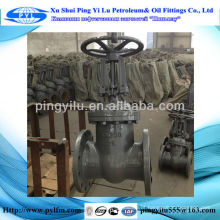 Gost válvulas de portão óleo e gasoduto, válvula de portão de ferro dúctil