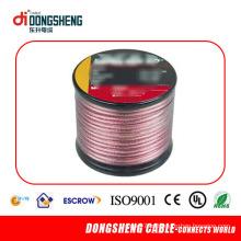 Fio de alto-falante vermelho com cobre livre de oxigênio ou condutor CCA