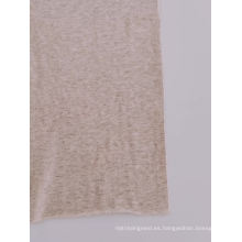 Recuperación cómoda tela de lycra Jersey de rollo de algodón