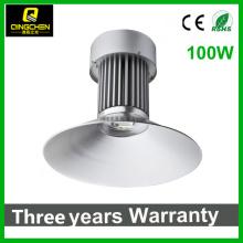 Projet de bonne qualité Epistar 100W LED high bay light pour atelier / entrepôt