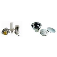 Drain / Rebreather de plancher en acier inoxydable (IFEC-FD100012)
