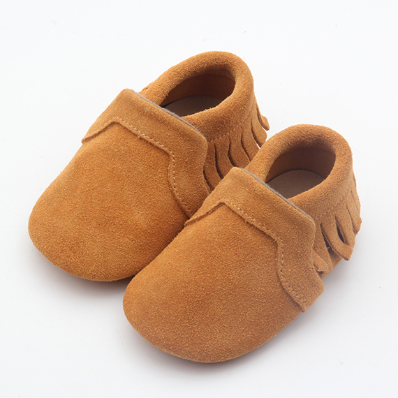 Suede Leather Baby Shoes 2017