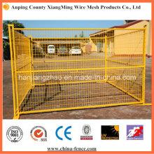 3.5mm Drahtdurchmesser PVC-Anstrich-Draht-Ineinander greifen-Fechten