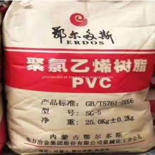 Resina de PVC da marca Erdos SG5 K66-k68