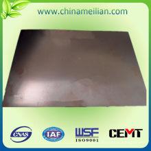 Hoja laminada recubierta de aluminio con base de cobre