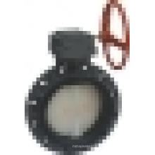 Válvula de borboleta da engrenagem do sem-fim (D371X-6S), válvula de borboleta da bolacha