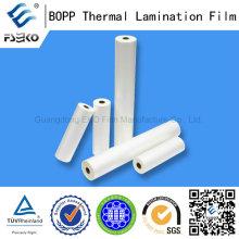 BOPP Material Película de Laminación Térmica BOPP con Revestimiento EVA