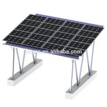Waterproof Carport Solar Panel Mounting Structure Design Solar System