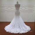 Venda quente sereia Vintage Lace Applique noivas casamento vestidos (XF1088)
