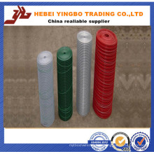 Maille hexagonale d'utilisation de volaille / barrière hexagonale de maille / treillis métallique hexagonal galvanisé