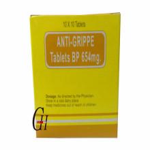 Anti-Grippe 654 mg Tablets
