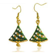 Bijoux de Noël / Boucle d'oreille de Noël / Arbre de Noël (XER13374)