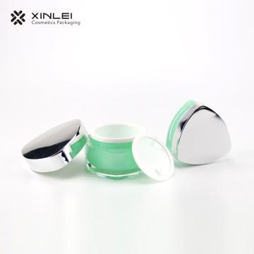 Bouteilles d'emballage cosmétiques galvanisées 30g PP