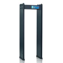 Ausstellungshalle Hochgeschwindigkeitserkennung Metalldetektortor mit 4 Zonen