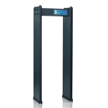 Détecteur de détecteur de métaux de détection de grande vitesse de la salle d'exposition avec 4 zones
