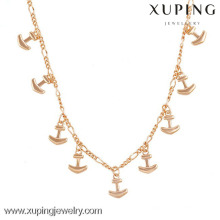 42785 New Design Fashion Personality Gold Alloy Arrow Women's Chain Necklace