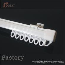 Kunststoff-PVC gerade Vorhang Schiene und Kunststoff Zubehör Vorhang Schiene