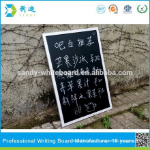 shop product list chalkboard