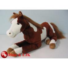 Treffen Sie EN71 und ASTM Standard ICTI Plüsch Spielzeug Fabrik Pferd Plüschtiere