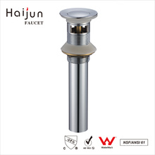 Haijun Wholesalers China cUpc Cromo plateado baño Sink desbordamiento de drenaje