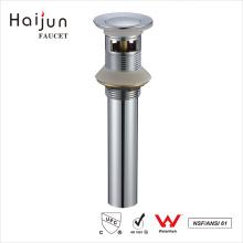 Haijun Wholesalers China cUpc Chrome Plated Bathroom Sink Overflow Drain