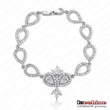 Bracelet diamant CZ de la Reine (CBR0020-B)