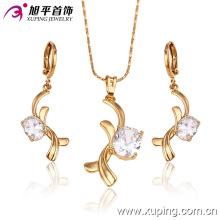 63050 Xuping newest elegant stylish delicate amazing Jewelry set