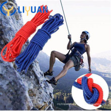 High safety 4-40mm Climbing Rope with Iron Hook