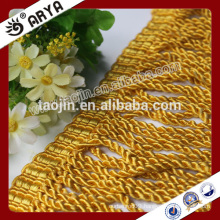 2016 Stock Product Clearance for Home Textile of Golden Curtain Bullion Trimming