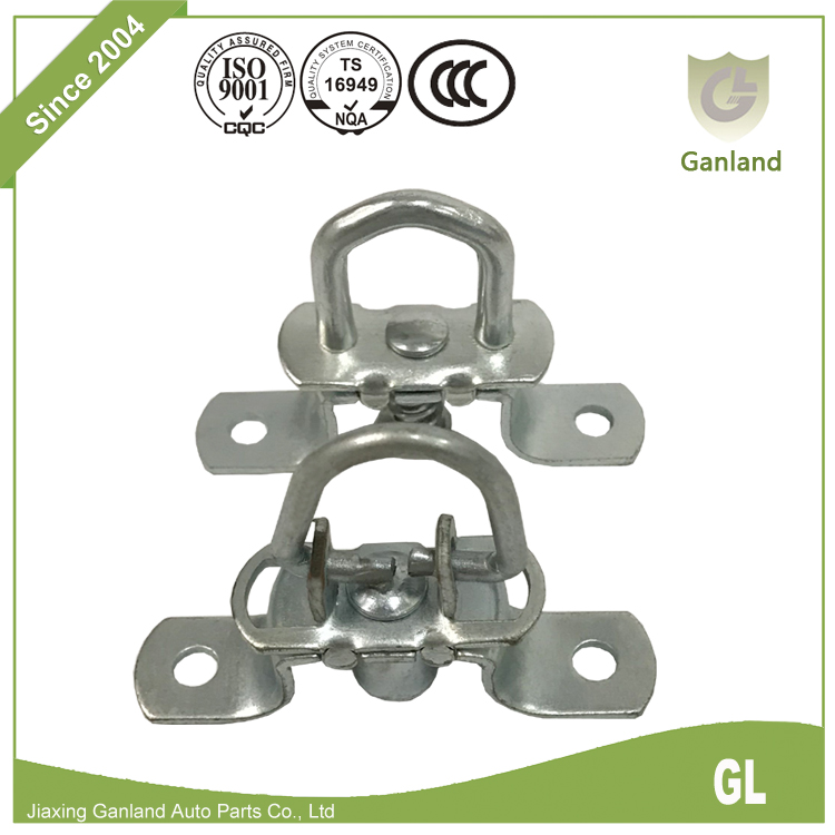 Zinc plated folding locking rings GL-15732