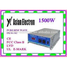 Inverter 1500W 240VAC hohe Effizienz