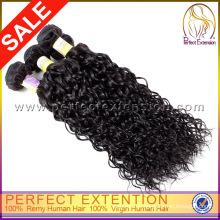 China, Made In China Fabrik direkte intakt reines Haar Großhandel indischen lockiges Haar