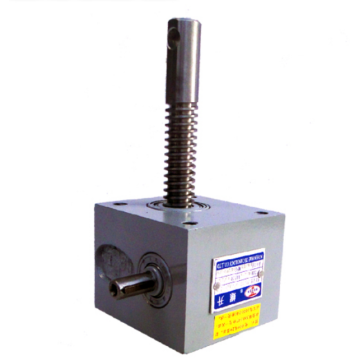 Vertical screw jack simple mechanical screw jack