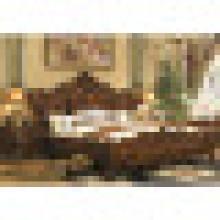 Cama de madeira para conjunto de móveis de quarto (A05)