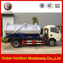 Dongfeng Duolika 5000L Sewage Suction Truck with Good Price