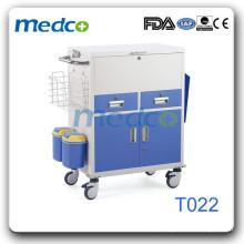 Trole de mudança de medicina de aço T022