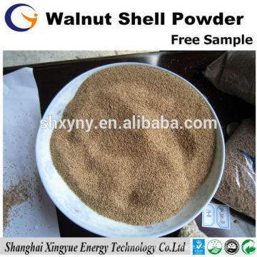 Professional factory 100 mesh walnut shell flour for polishing