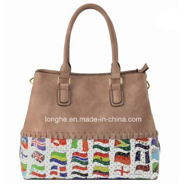 2016 Top PU Fashional and Good Quality Handbag (ZXE1182)