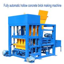 QTF4-25 excelente rendimiento vibración moldeado bloque de hormigón que hace la máquina para la venta en nigeria