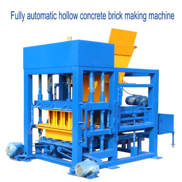 QTF4-25 excellent performance vibration molding concrete block making machine for sale in nigeria
