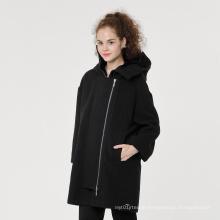 Wholesale Fashion hot style ladies warm overcoat