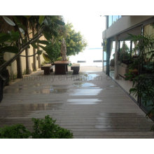 Factory Direct Sale Hollow Waterproof Wood and Plastic Composite WPC Decking WPC Flooring